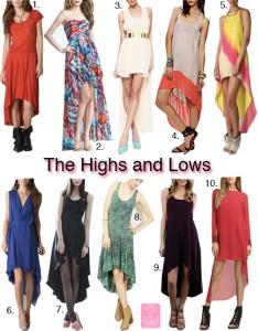 hi low dresses