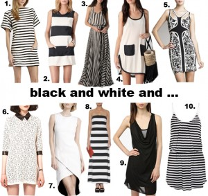 whydid-black-and-white-dresses
