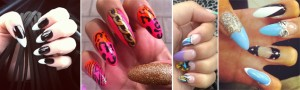 pointed nail trend 2012