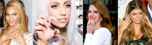 celebrities pointy nail trend