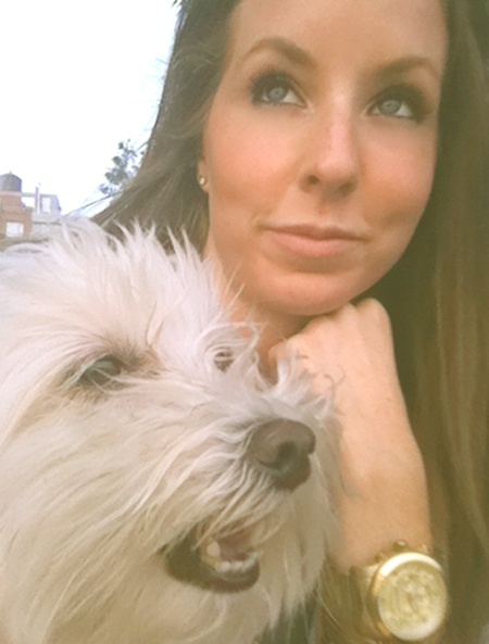 a girl and her dog kirsten smith