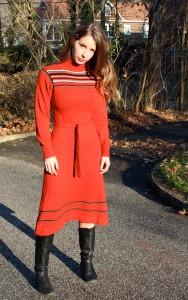 red sweater dress kirsten smith