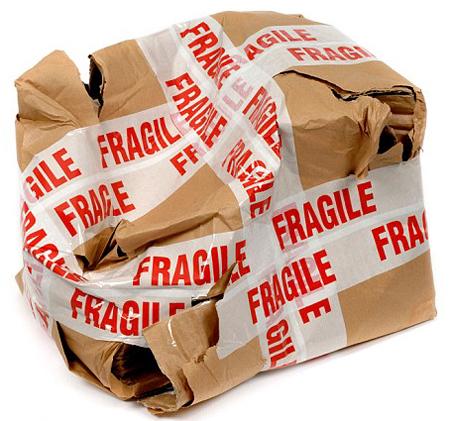 broken boxes shipping