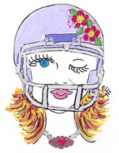 girl superbowl