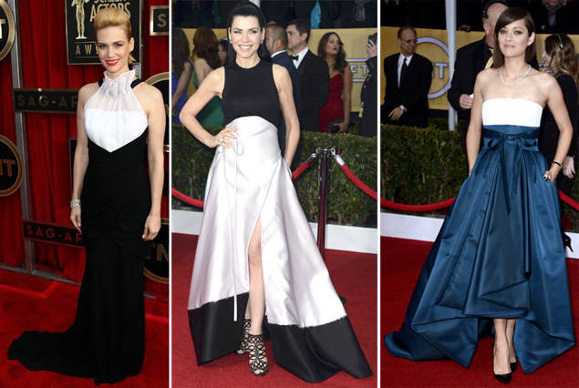 bad dresses sag awards 2013