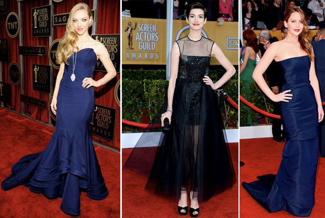 best dressed sag awards 2013