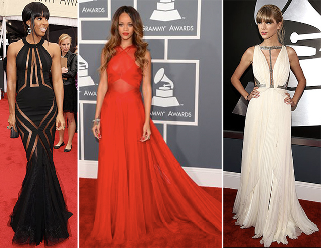 best dressed grammys 2013 rihanna