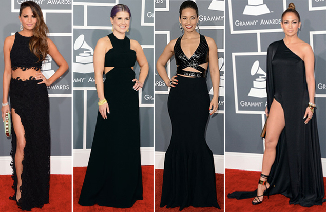 red carpet grammys 2013