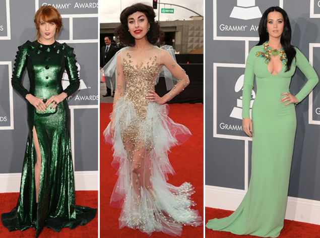 grammys 2013 katy perry kimbra florence welch