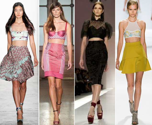 spring 2013 trends crop top