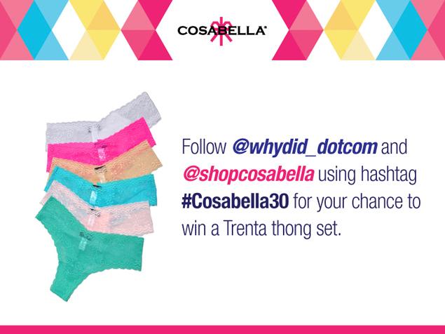 whydid cosabella contest