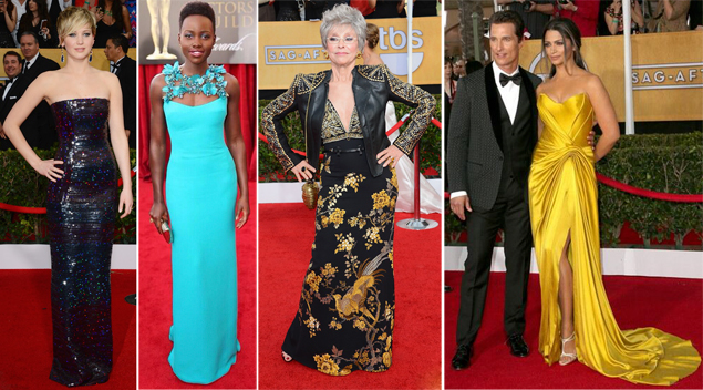 best dressed sag awards
