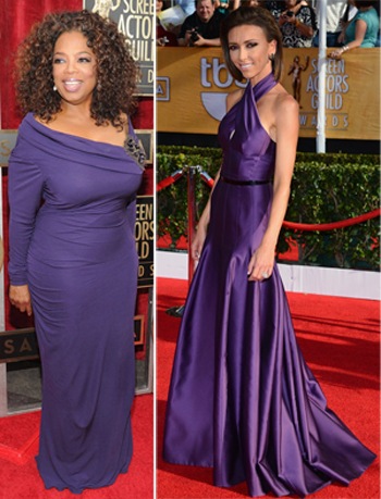 oprah giuliana rancic sag awards