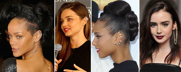 celebrit ear cuffs