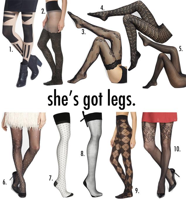 luxury legwear