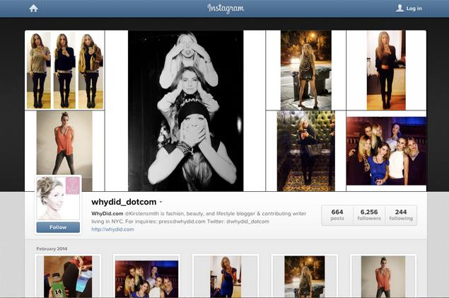 kirsten smith instagram