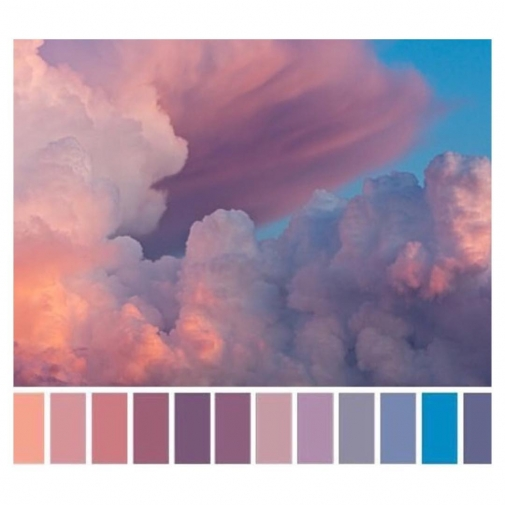 Whats your favorite color? Is sunset a color?