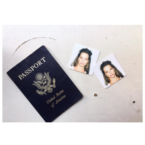 When your new passport photo has you looking like Mugatuhellip