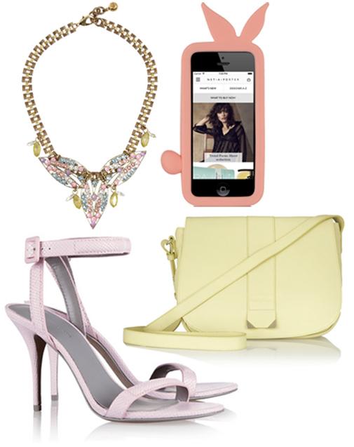 pastel accessories