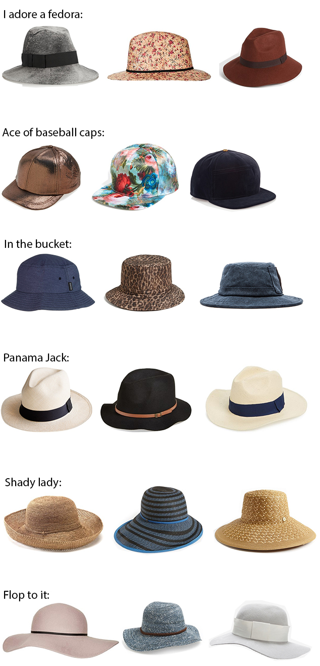 fedora panama bucket hats