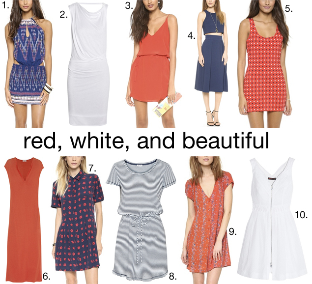 4th of july dresses