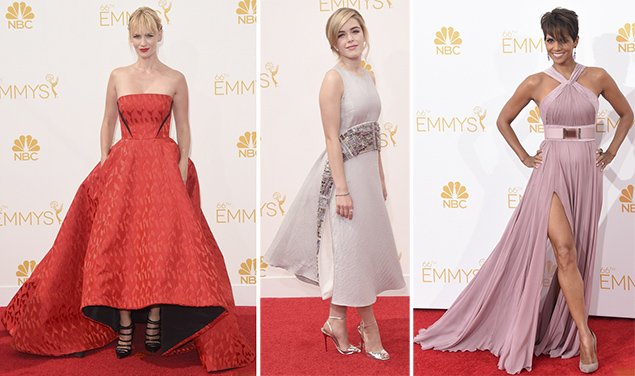 best dressed emmys january jones kiernan shipka