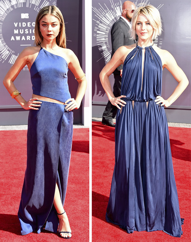 sarah hyland julianne hough mtv vmas