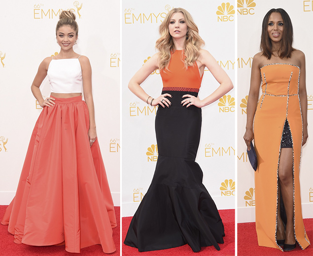emmys red carpet best dressed