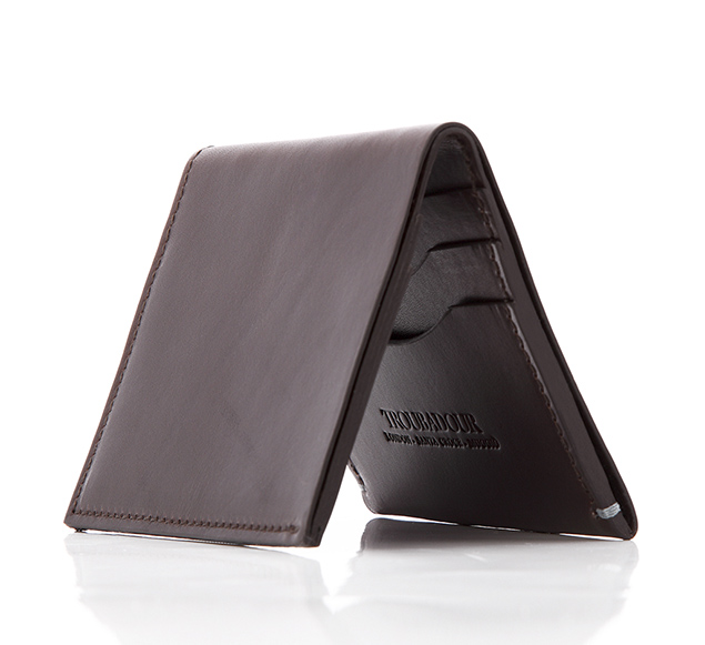 troubadour leather wallet billfold