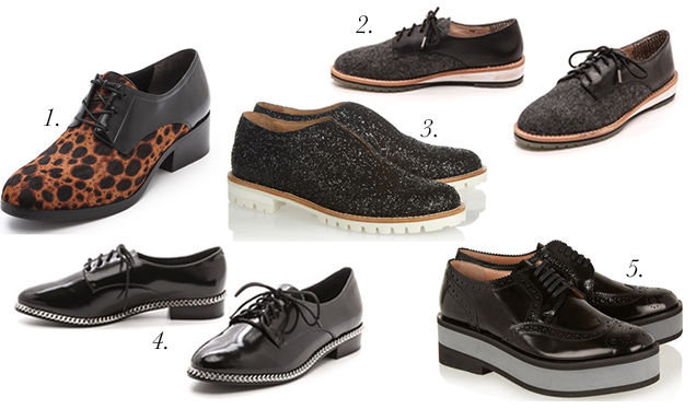 fall shoes brogues oxfords