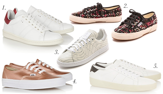 fall sneakers trend