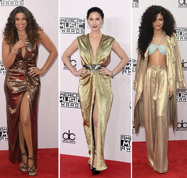 jordin sparks red carpet american music awards