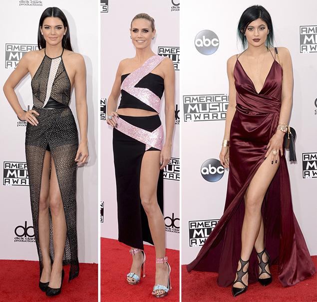 kendall kylie jenner american music awards