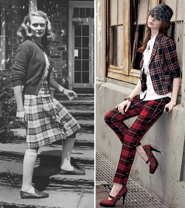 plaid is timeless pattern