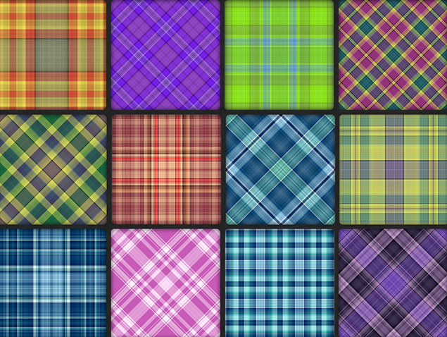 types of plaid