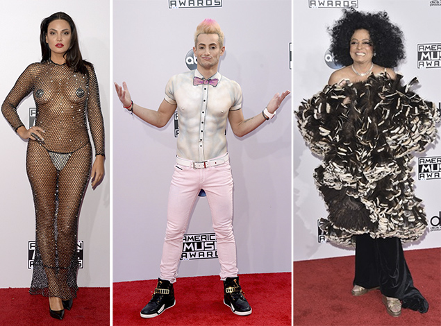 worst dressed red carpet ama