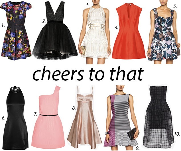 best party dresses holiday