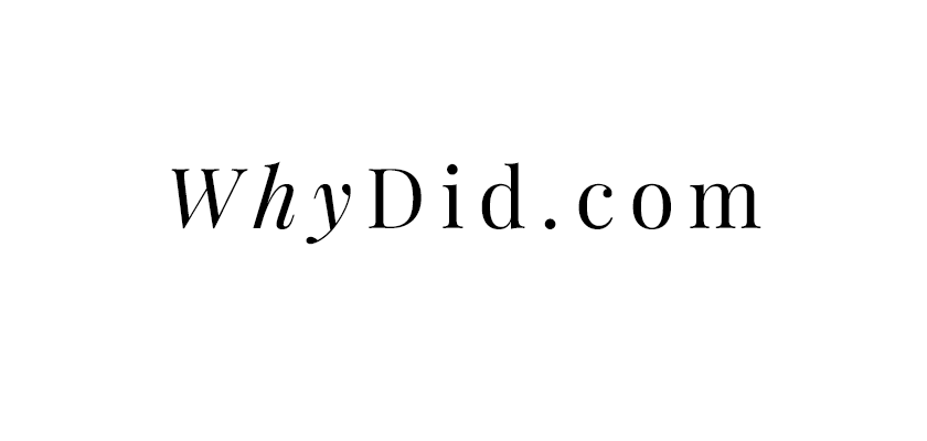 Whydid.com
