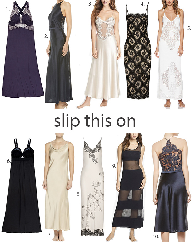 how to wear a slip