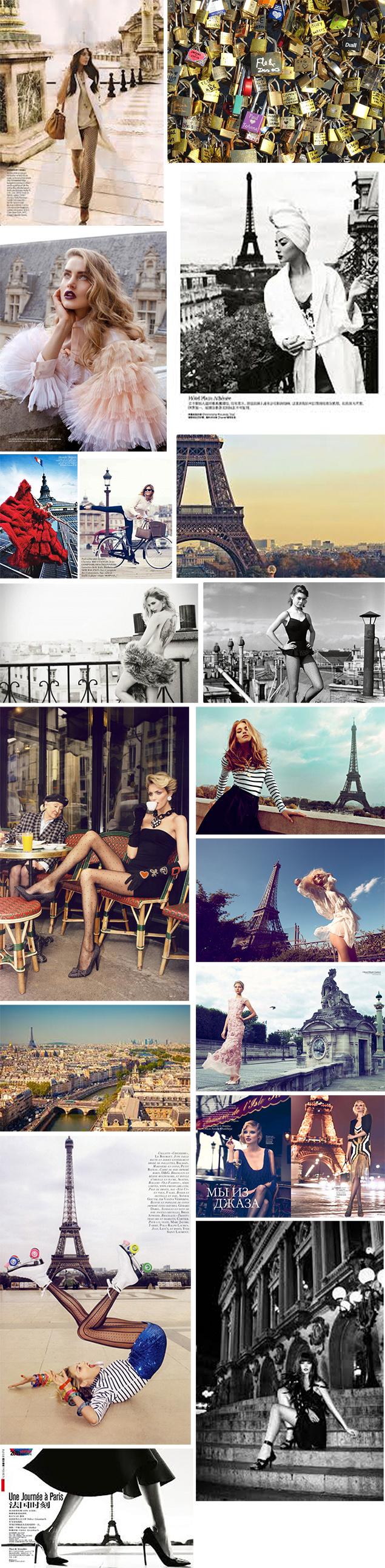 paris fashion editorial