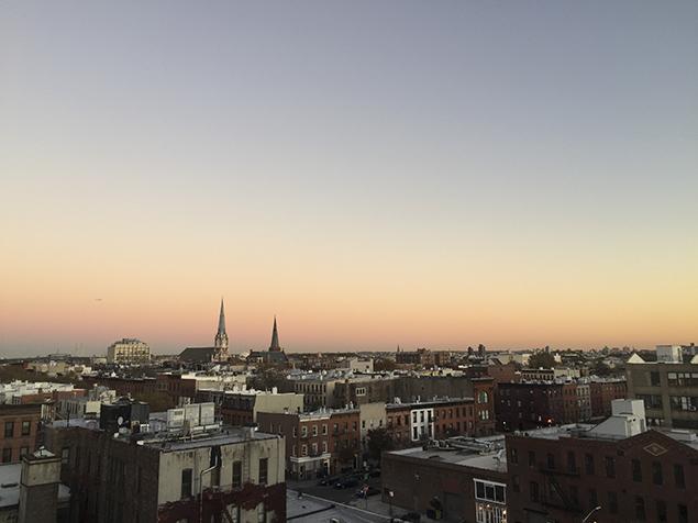 greenpoint-brooklyn-sunset