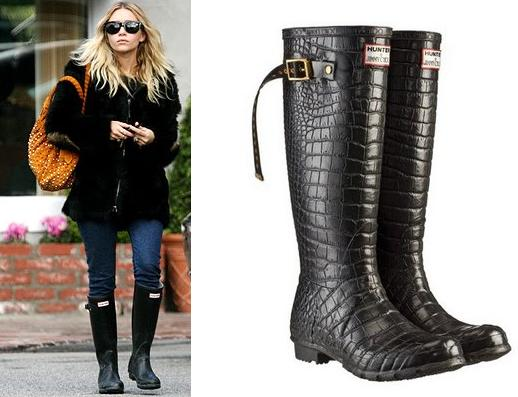 ashley_olsen-jimmy-choo-hunter-rain-boots
