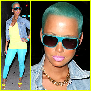 amber-rose-blue-green-hair