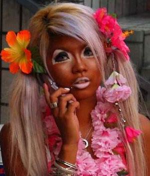 tan girl
