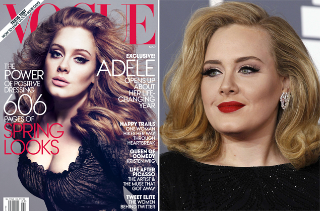 adele vogue cover photoshop