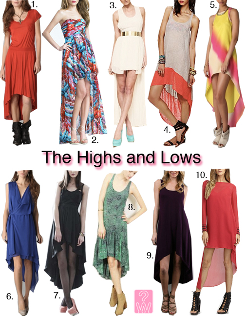 hi low dresses