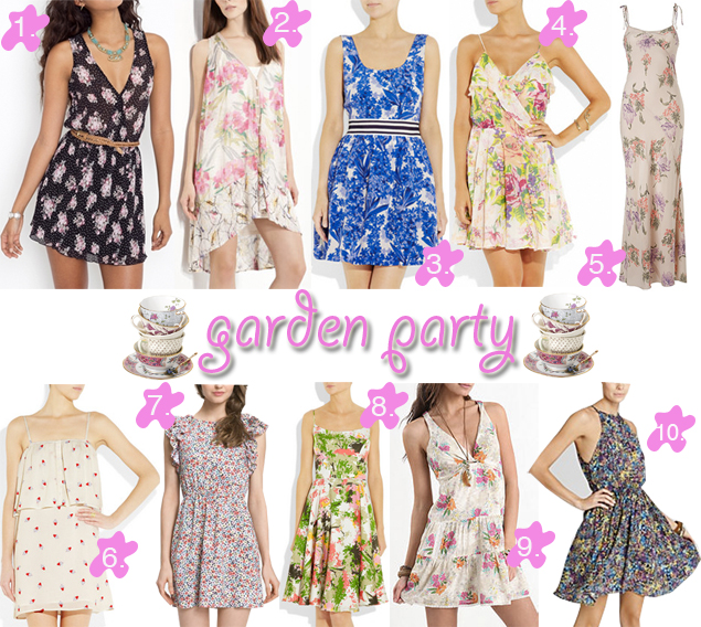 garden party dresses