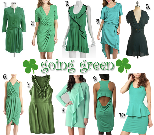 st patricks day dresses