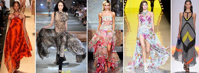 spring 2012 maxi dresses