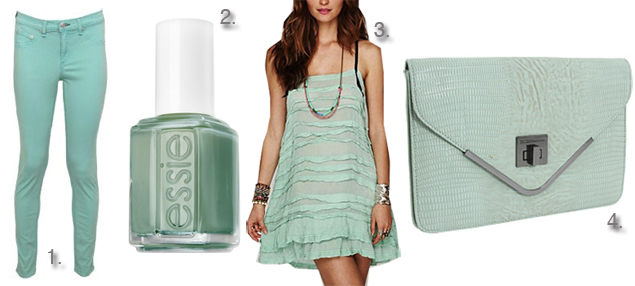 spring mint clothing